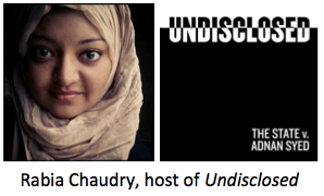 Chaudry Undisclosed