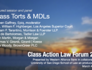 Mass Torts and MDLs
