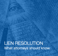 Lien Resolution Webinar