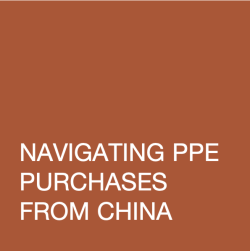 Navigating PPE Purchases from China