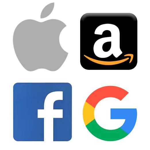 Apple Amazon Facebook Google
