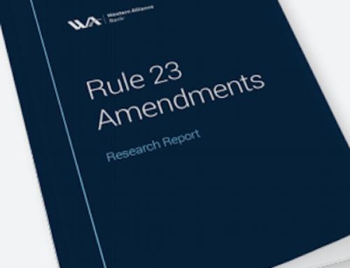 Class Actions: Rule 23 Amendments