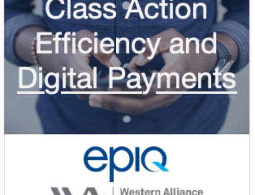 Digital Payments in Class Actions