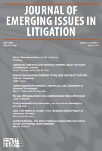 Journal on Emerging Issues in Litigation